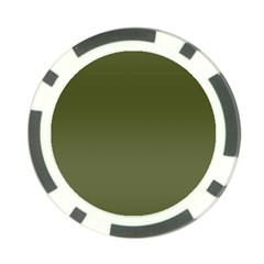 Army Green Color Ombre Poker Chip Card Guard (10 Pack) by SpinnyChairDesigns