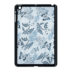 Nature Blue Pattern Apple Ipad Mini Case (black)