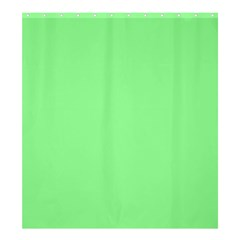 Mint Green Color Shower Curtain 66  X 72  (large)