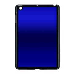 Cobalt Blue Gradient Ombre Color Apple Ipad Mini Case (black)