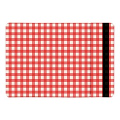 Red White Gingham Plaid Apple Ipad Pro 10 5   Flip Case