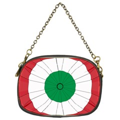 National Cockade Of Italy Chain Purse (two Sides) by abbeyz71