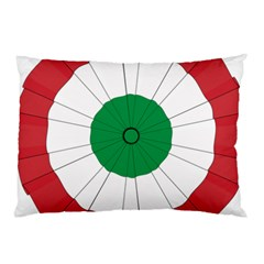 National Cockade Of Italy Pillow Case (two Sides) by abbeyz71