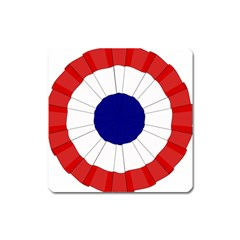 National Cockade Of France  Square Magnet by abbeyz71