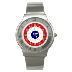 National Cockade Of France  Stainless Steel Watch by abbeyz71