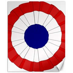 National Cockade Of France  Canvas 16  X 20  by abbeyz71