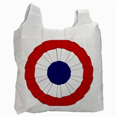 National Cockade Of France  Recycle Bag (one Side) by abbeyz71