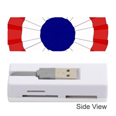 National Cockade Of France  Memory Card Reader (stick) by abbeyz71