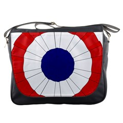 National Cockade Of France  Messenger Bag by abbeyz71