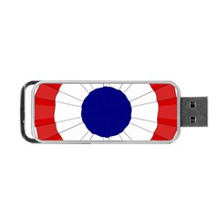 National Cockade Of France  Portable Usb Flash (one Side) by abbeyz71