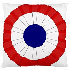 National Cockade Of France  Large Flano Cushion Case (two Sides) by abbeyz71