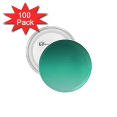 Biscay Green Gradient Ombre 1 75  Buttons (100 Pack)