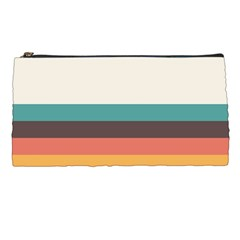 Classic Retro Stripes Pencil Case by tmsartbazaar