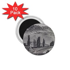 Deserted Landscape Highway, San Juan Province, Argentina 1 75  Magnets (10 Pack)  by dflcprintsclothing