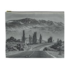 Deserted Landscape Highway, San Juan Province, Argentina Cosmetic Bag (xl)