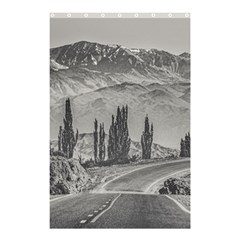 Deserted Landscape Highway, San Juan Province, Argentina Shower Curtain 48  X 72  (small)