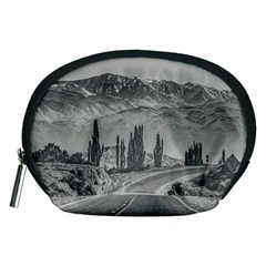 Deserted Landscape Highway, San Juan Province, Argentina Accessory Pouch (medium)
