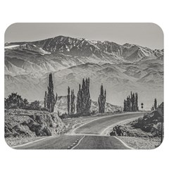 Deserted Landscape Highway, San Juan Province, Argentina Double Sided Flano Blanket (medium)