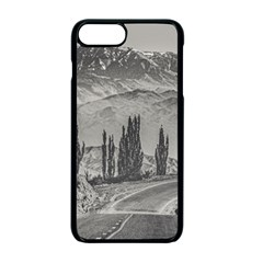 Deserted Landscape Highway, San Juan Province, Argentina Iphone 7 Plus Seamless Case (black)