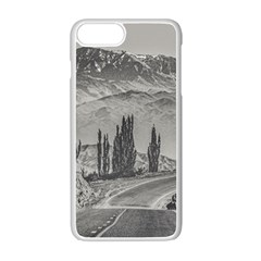 Deserted Landscape Highway, San Juan Province, Argentina Iphone 7 Plus Seamless Case (white)