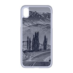 Deserted Landscape Highway, San Juan Province, Argentina Iphone Xr Seamless Case (white)
