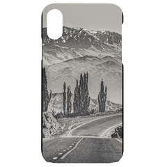 Deserted Landscape Highway, San Juan Province, Argentina Iphone Xr Black Uv Print Case