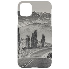 Deserted Landscape Highway, San Juan Province, Argentina Iphone 11 Black Uv Print Case