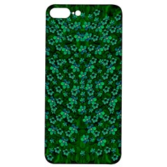 Leaf Forest And Blue Flowers In Peace Iphone 7/8 Plus Soft Bumper Uv Case