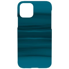 Teal Blue Ombre Iphone 11 Pro Black Uv Print Case