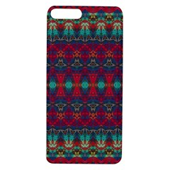Boho Red Teal Pattern Apple Iphone 7/8 Plus Tpu Uv Case by SpinnyChairDesigns