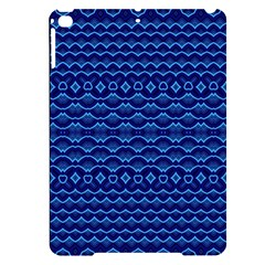 Cobalt Blue  Apple Ipad Pro 9 7   Black Uv Print Case by SpinnyChairDesigns