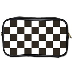 Chequered Flag Toiletries Bag (one Side) by abbeyz71