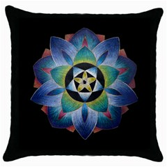Expression Black Throw Pillow Case by idjy