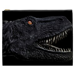 Trex Dinosaur Head Dark Poster Cosmetic Bag (xxxl)
