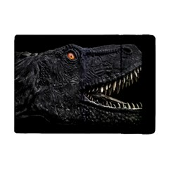 Trex Dinosaur Head Dark Poster Ipad Mini 2 Flip Cases