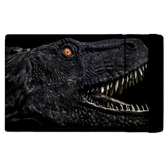 Trex Dinosaur Head Dark Poster Apple Ipad Pro 9 7   Flip Case