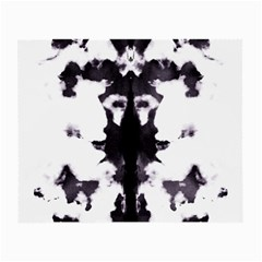 Rorschach Inkblot Pattern Small Glasses Cloth by SpinnyChairDesigns