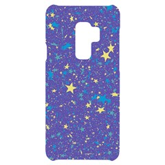 Starry Night Purple Samsung S9 Plus Black Uv Print Case