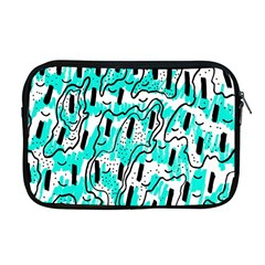 Doodle Art Minimal Drawing Pen Apple Macbook Pro 17  Zipper Case
