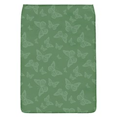 Asparagus Green Butterfly Print Removable Flap Cover (s)
