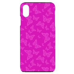 Fuchsia Butterfly Print  Iphone Xs Max
