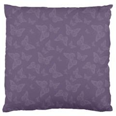 Grape Compote Butterfly Print Standard Flano Cushion Case (two Sides)