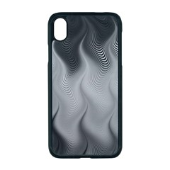 Abstract Black Grey Iphone Xr Seamless Case (black)