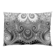 Black And White Spirals Pillow Case