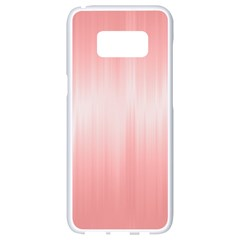 Fresh Pink Ombre Samsung Galaxy S8 White Seamless Case by SpinnyChairDesigns