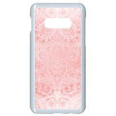 Pretty Pink Spirals Samsung Galaxy S10e Seamless Case (white)