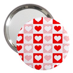 Hearts  3  Handbag Mirrors by Sobalvarro