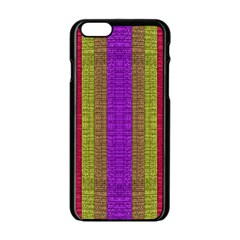 Colors Of A Rainbow Iphone 6/6s Black Enamel Case