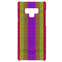 Colors Of A Rainbow Samsung Note 9 Black Uv Print Case