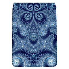 Royal Blue Swirls Removable Flap Cover (s) by SpinnyChairDesigns